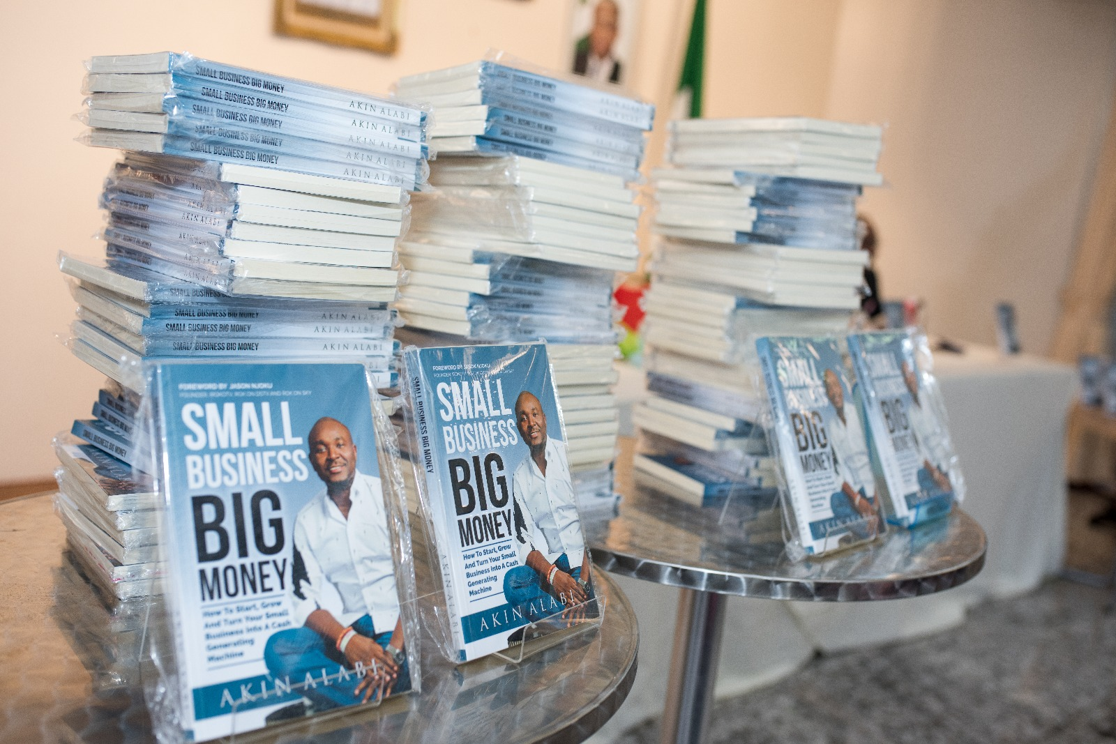 How To Order For My Book, Small Business Big Money – AkinAlabi